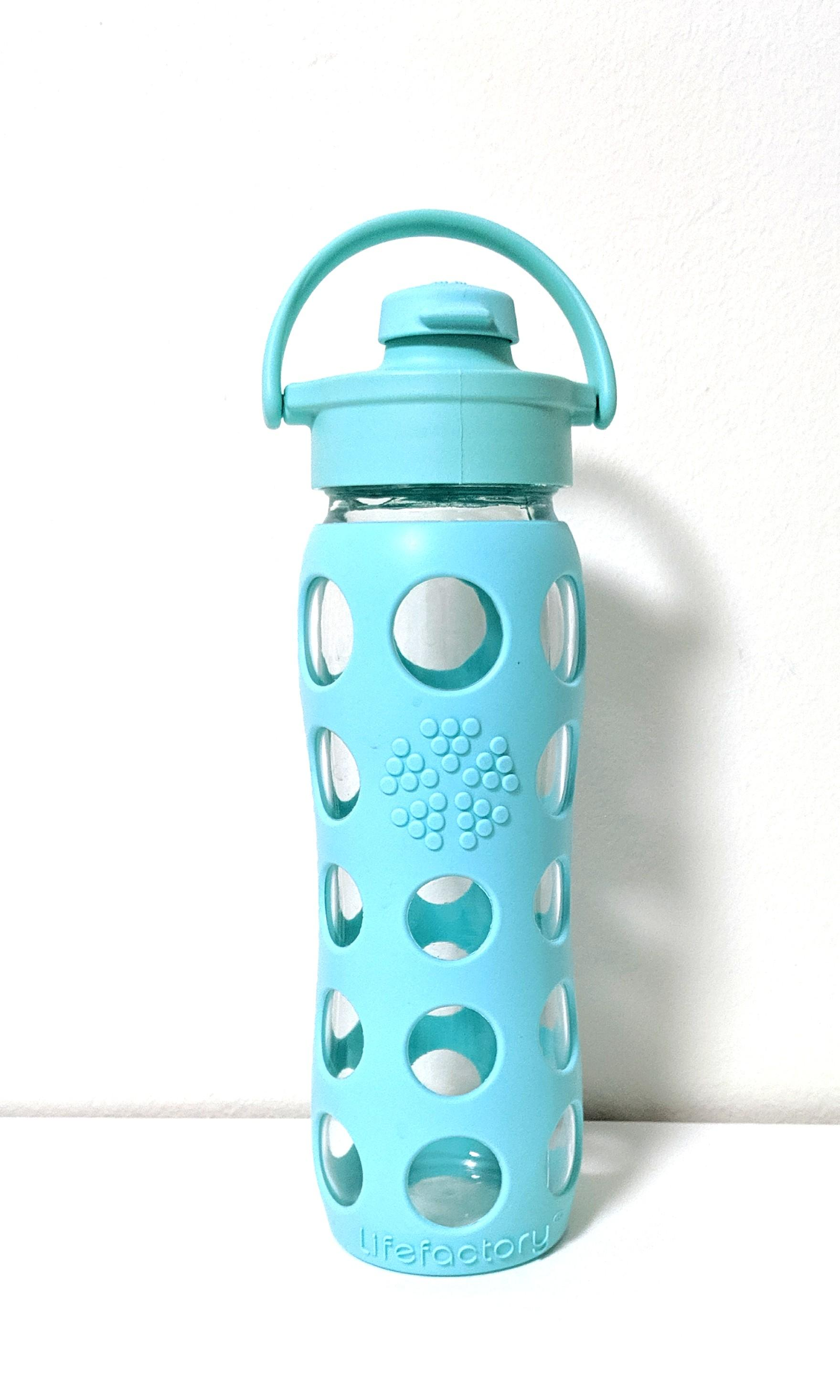 Lifefactory Glass Water Bottle 12oz/ 650ml