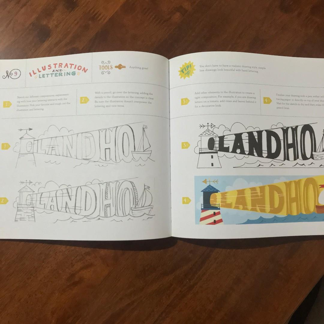 Hand Lettering Ledger - A practical guide to creating different lettering fonts