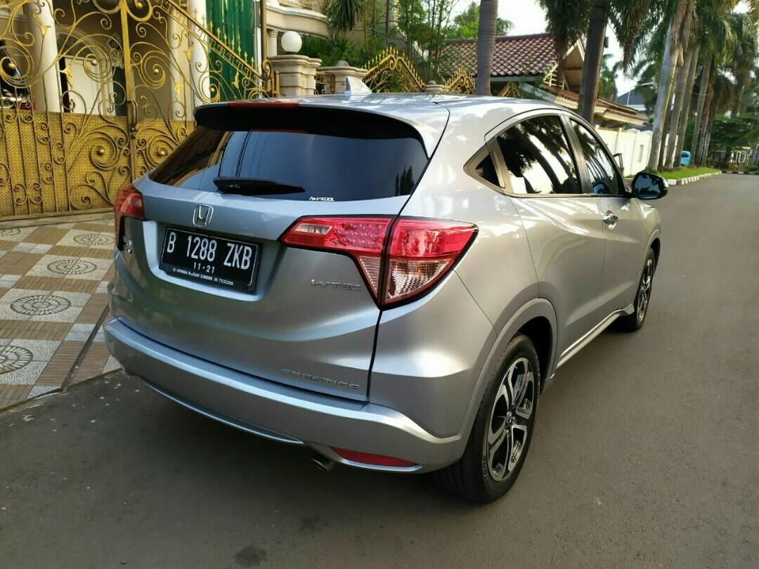 Honda HRV Prestige 1.8L 2016AT Silver Moon