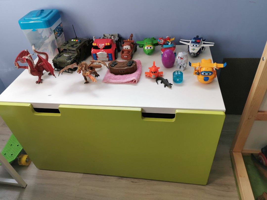 Ikea Kids Toy Storage Bench Furniture Shelves Drawers On Carousell