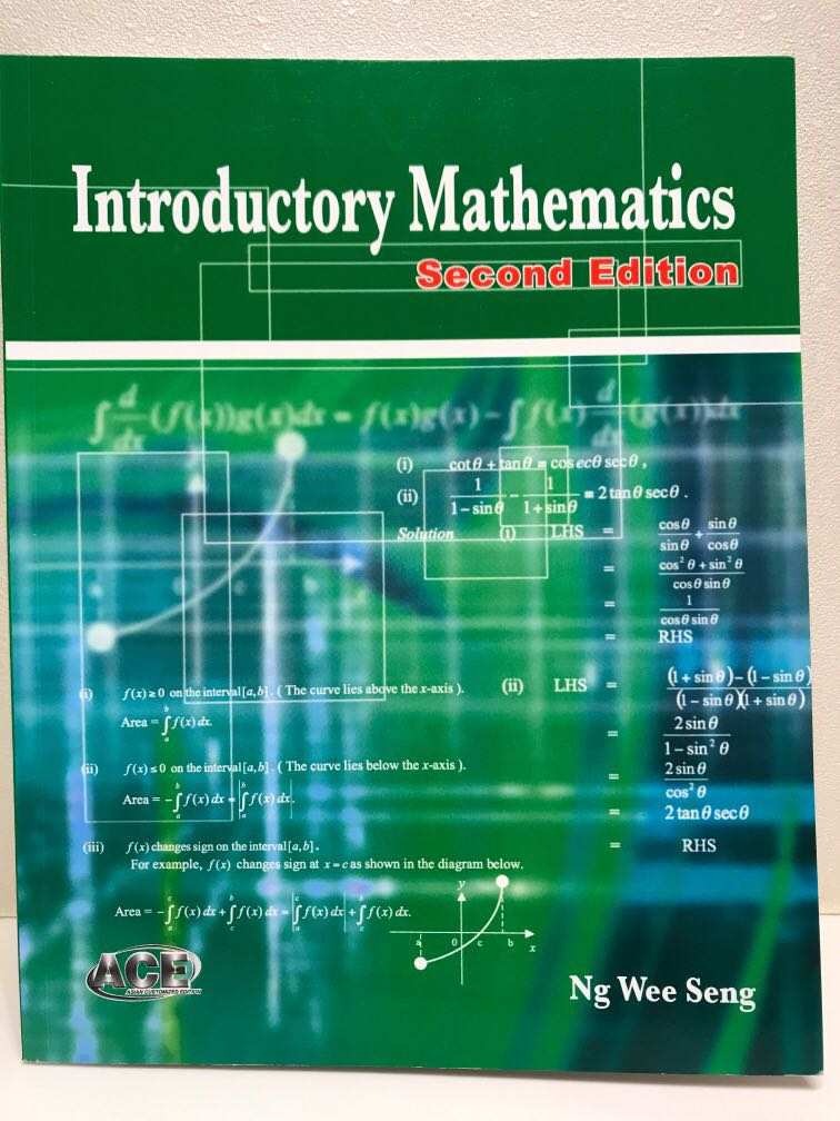 Introductory Mathematics Second Edition | Ng Wee Seng | McGraw Hill
