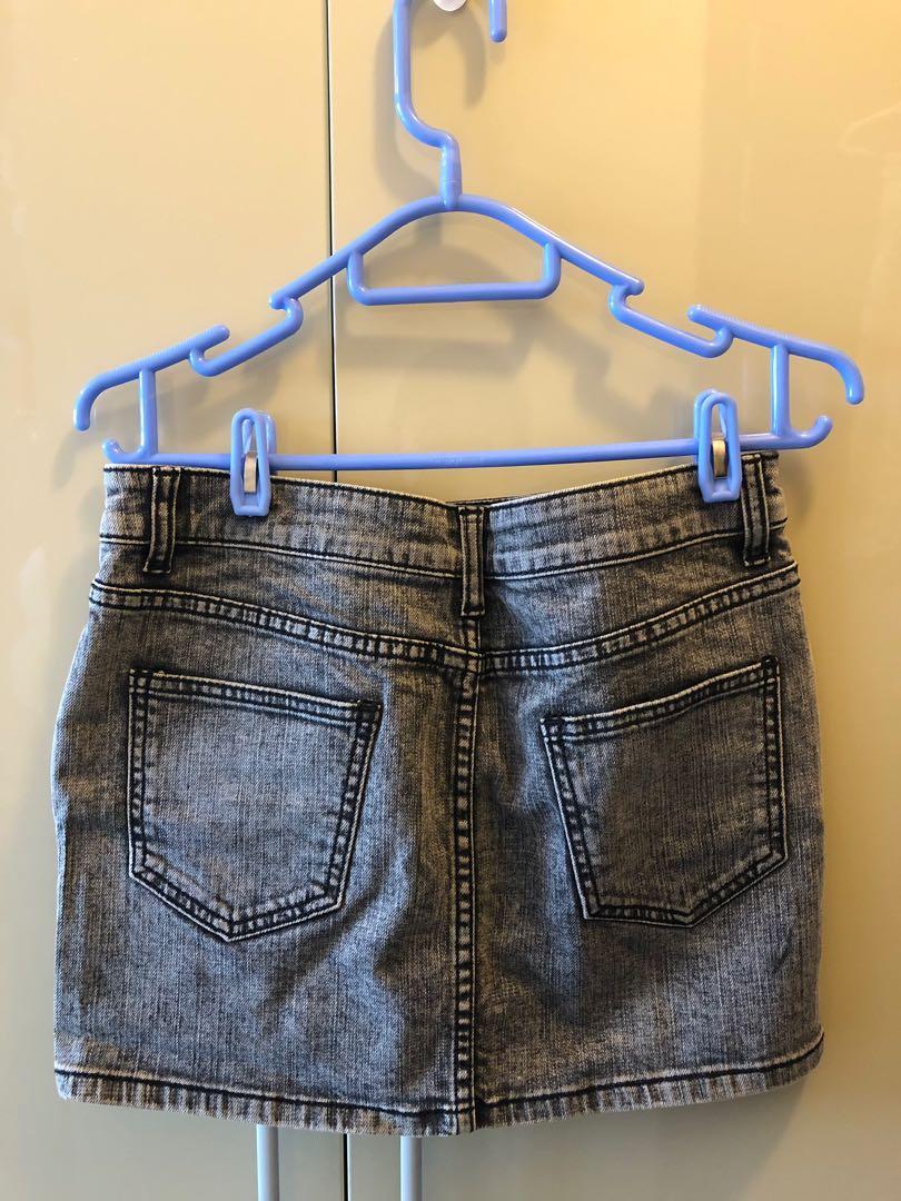 Izzue - Denim Skirt (New)