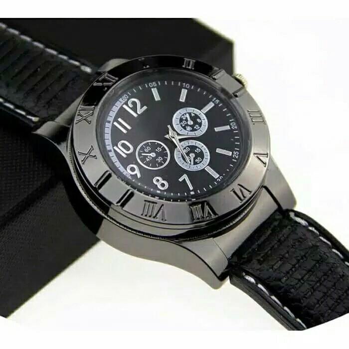Jam Tangan Korek Elektrik The Lighter Watch Premium jam korek elektrik