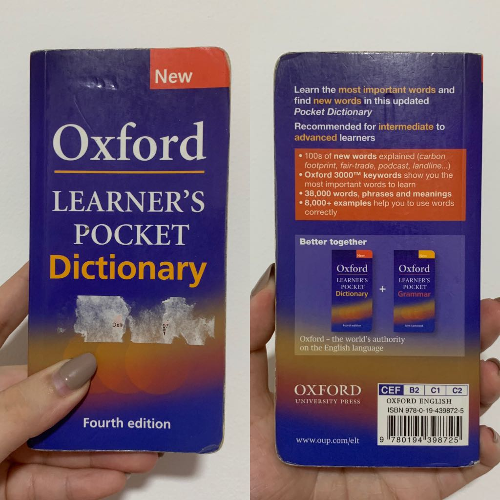 Kamus Oxford (Oxford Dictionary) 4th Edition, Books & Stationery