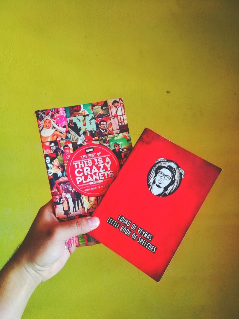 Lourd De Veyra's This is A Crazy Planets Book 2 (Includes Little Book of Speeches)