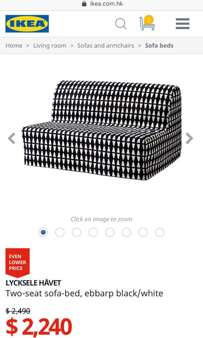 Two Seat Sofa Bed Double Size