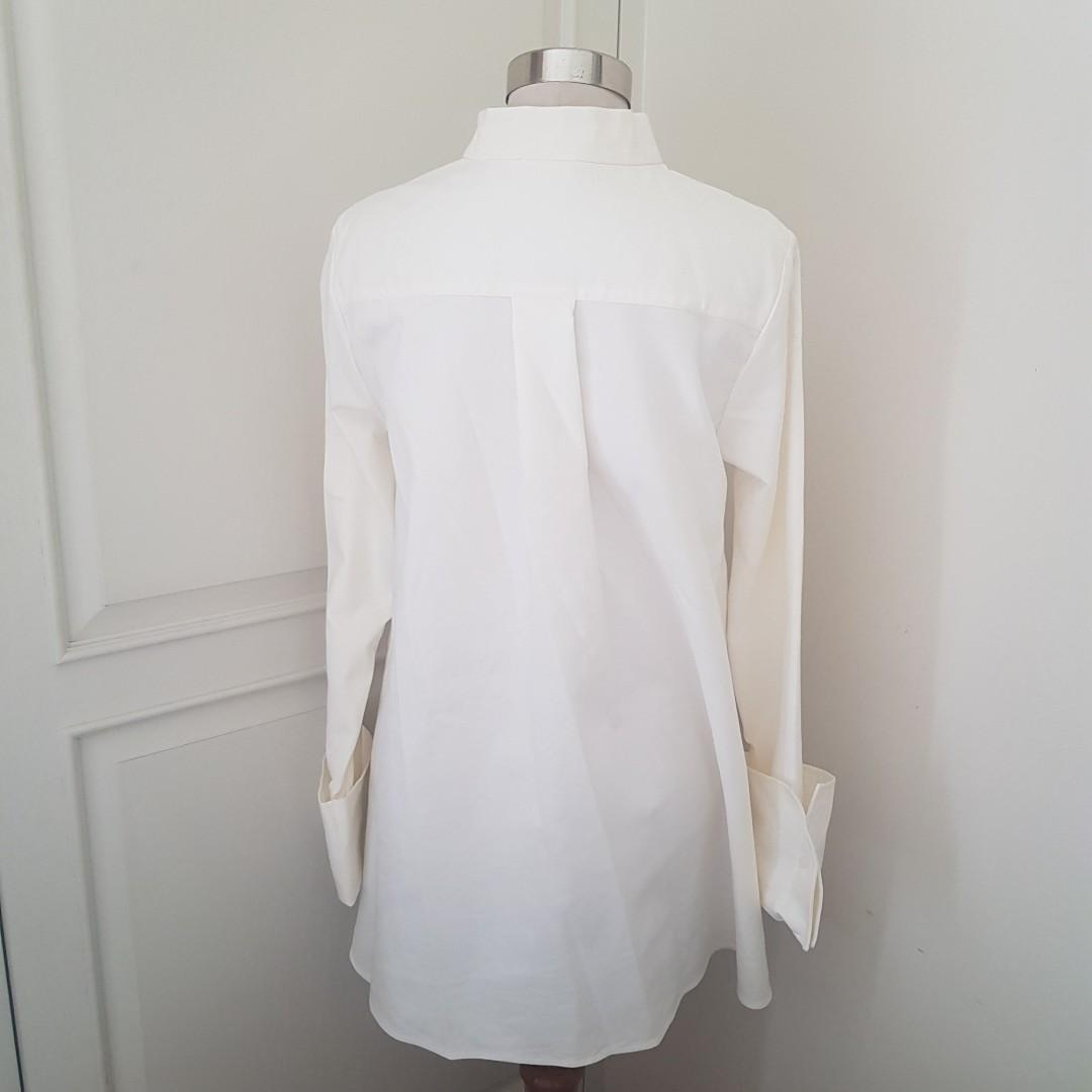 New DUMA X ANAZ SIANTAR White Shirt Top - free size SOLD OUT EVERYWHERE
