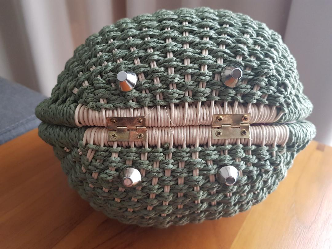 Unique Rattan Hand Bag