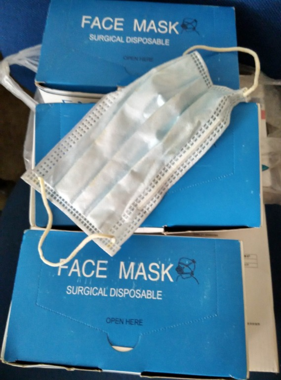 Safety Mask Disposable Ply Surgical 3 Mouth - Face