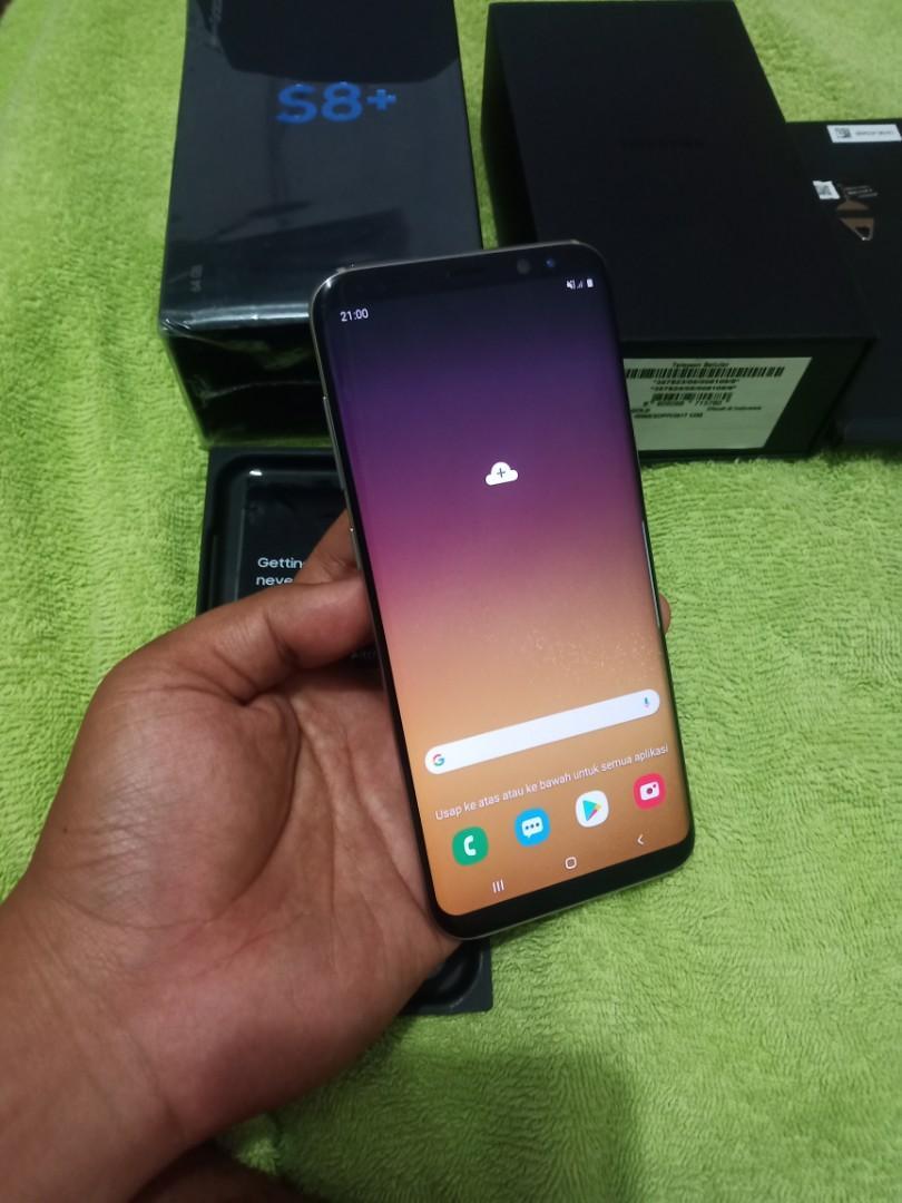 Samsung s8+ plus sein resmi fulset 4/64gb ky samsung s9