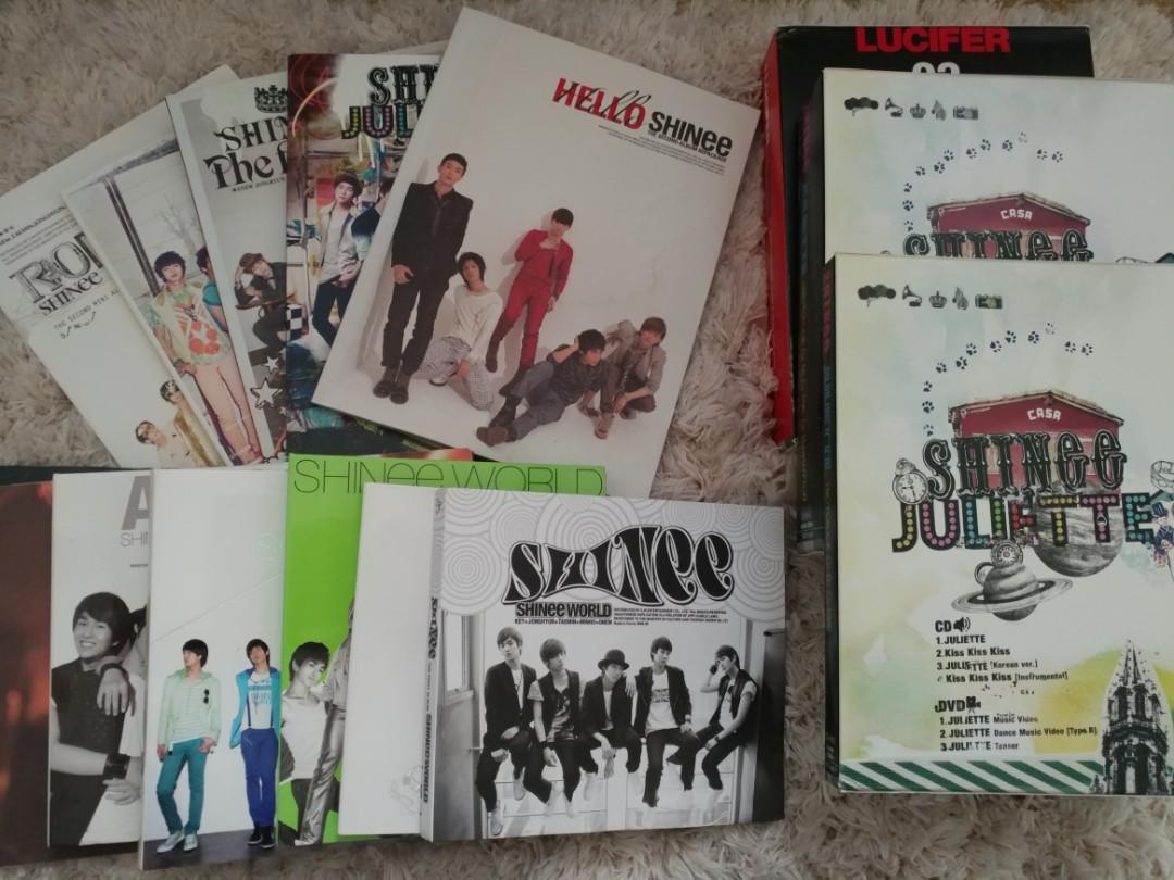 SHINee Albums
