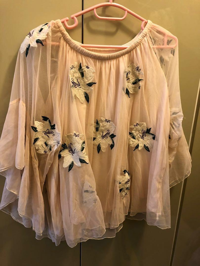 Snidel - Floral Top