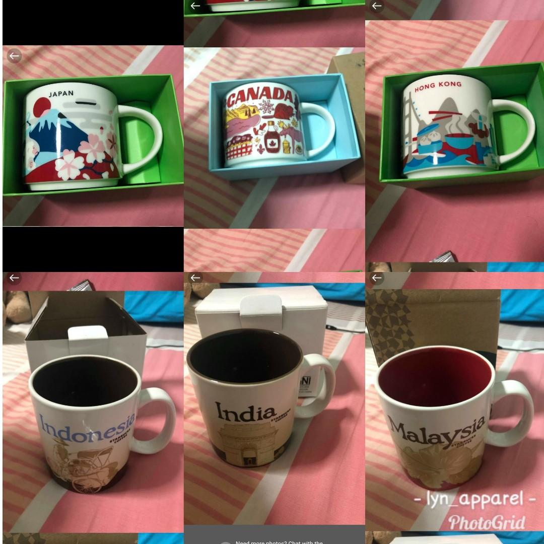 Starbucks Mug Collection Food Drinks Beverages On Carousell