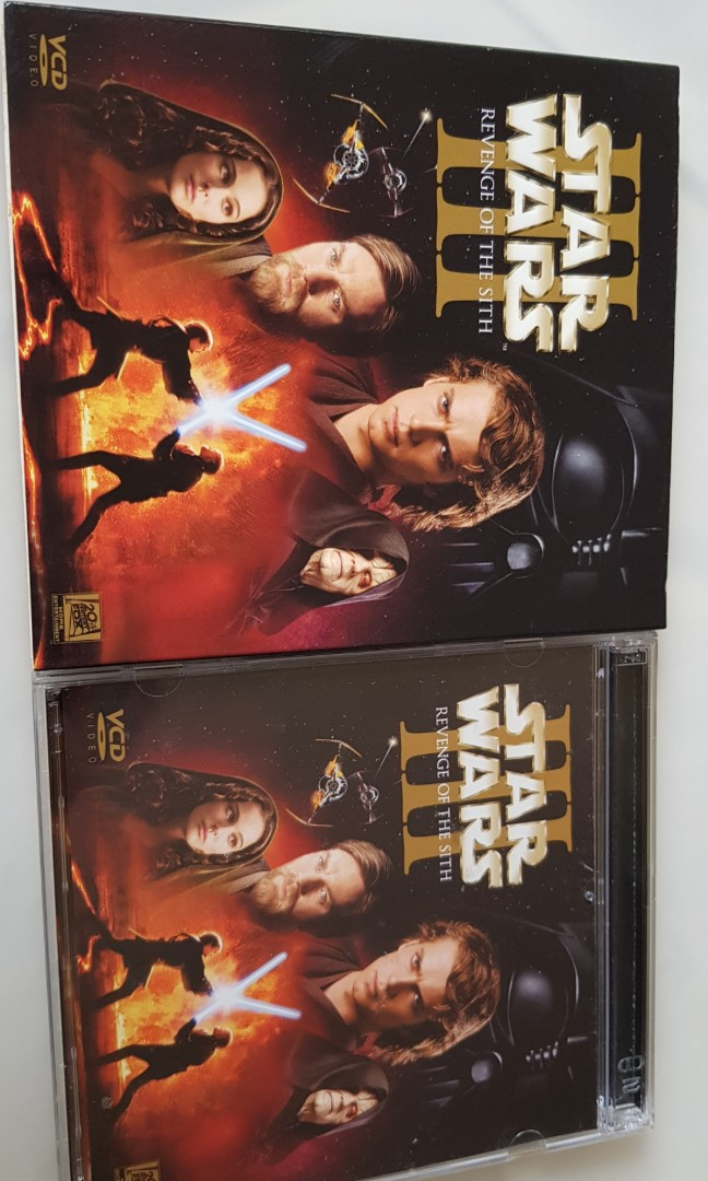 Starwars Episode Iii Revenge Of The Sith Vcd Music Media Cds Dvds Other Media On Carousell