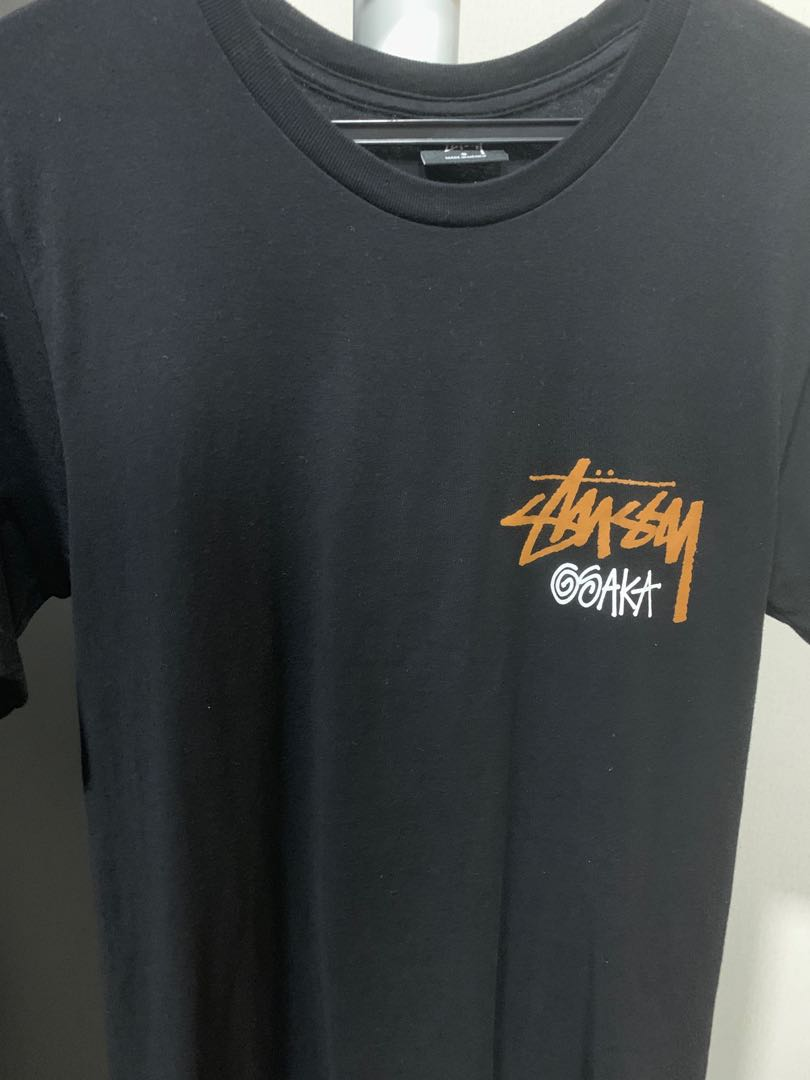 8f2adbc13c45 Stussy Osaka t shirt size S, Men's Fashion, Clothes, Tops on Carousell