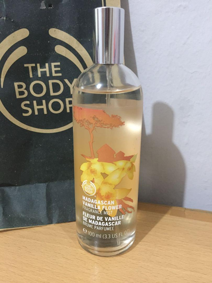 The Body Shop Madagascan Vanilla Flower Body Mist