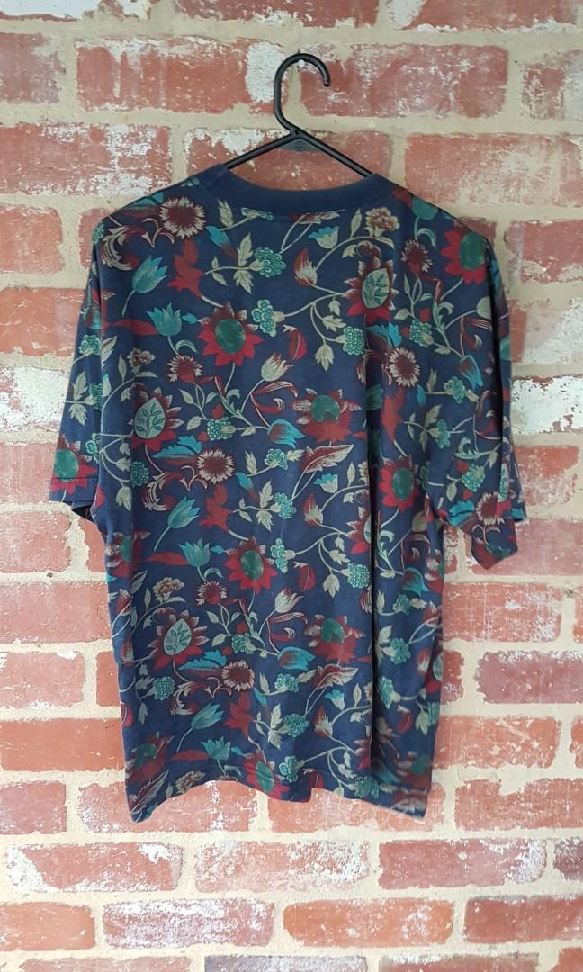 Vintage 90s Country Road Floral T Shirt Mens × Free Post