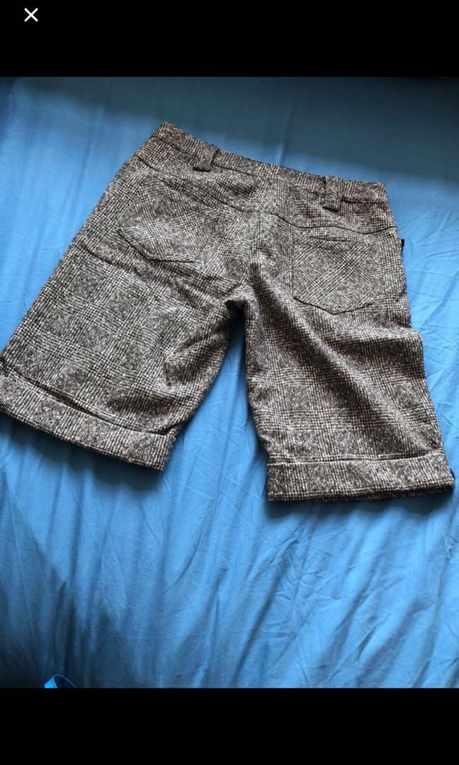 "Woman's Wool Shorts 28-30"" (New)"
