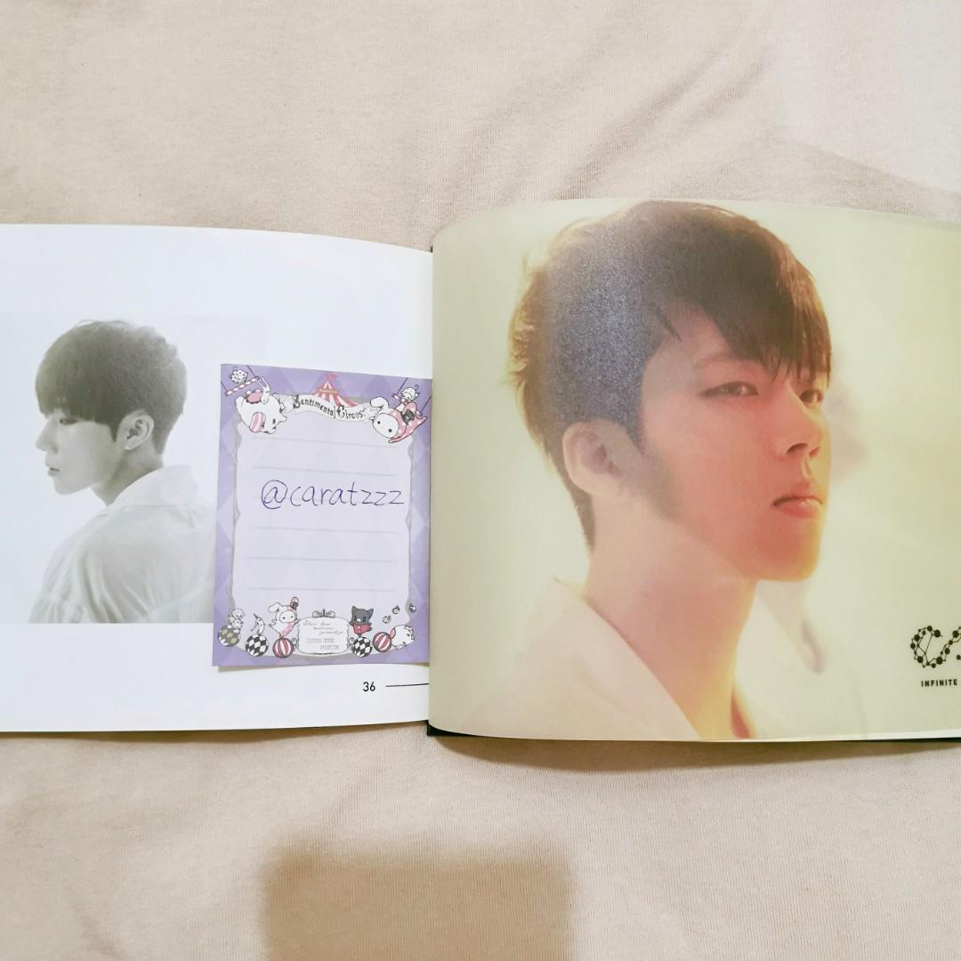 Infinite <Infinite only> album with woohyun pb, woohyun & sungjong pcs