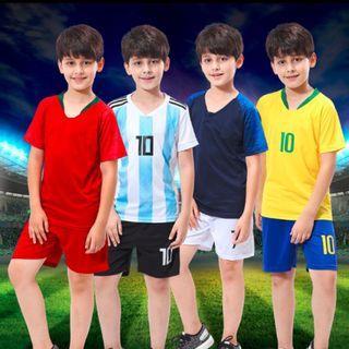 Kids Football Jersey Sets