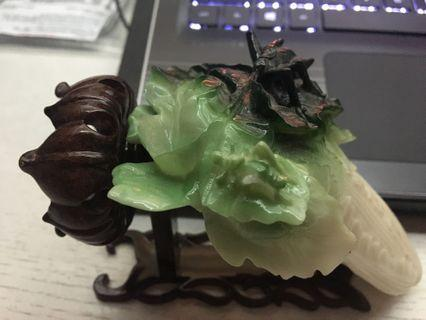 Chinese Cabbage Sculpture