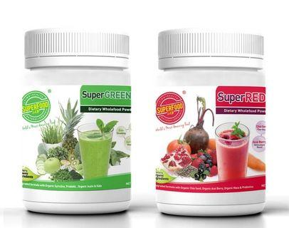 Superfood Lab  SuperGreen SuperRed