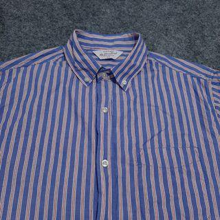 COTTON ON Button-down Striped Shirt Short Sleeve Size M