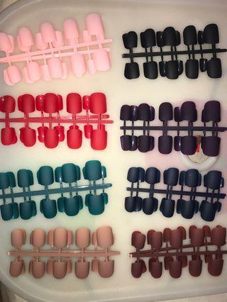 🚚 Assorted Matte Nails