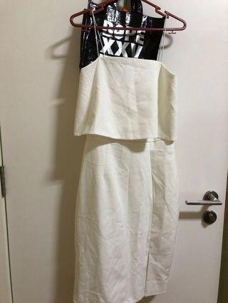 🚚 Kin Store White Dress (with tag)