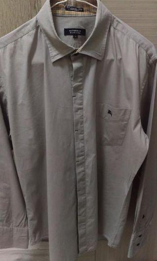 Black Burberry shirt