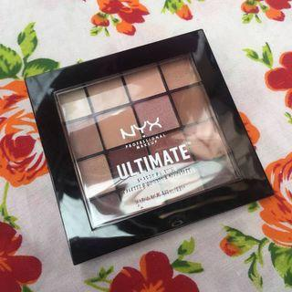 NYX Ultimate Shadow Eyeshadow Palette Warm Neutrals