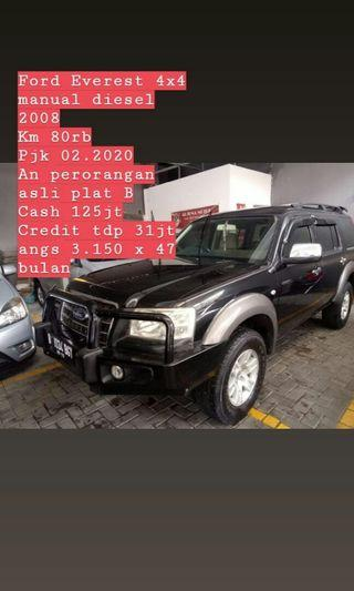 ford everest 4x4 manual diesel 2008