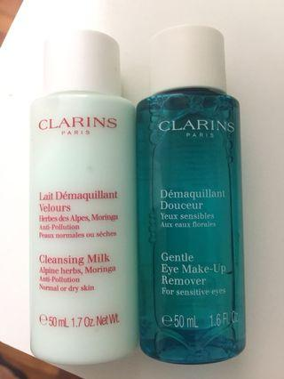 Clarins make up remove cleanser