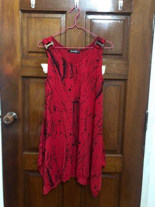 🚚 Red short dress