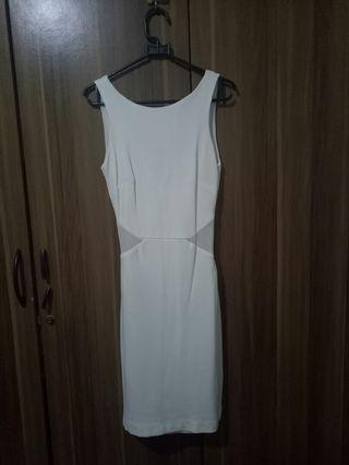 #maudandan Zara White Dress