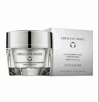 🚚 ESTÉE LAUDER Crescent White Full Cycle Brightening Moisture Creme 50ml