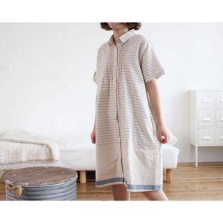 棉麻洋裝/midori