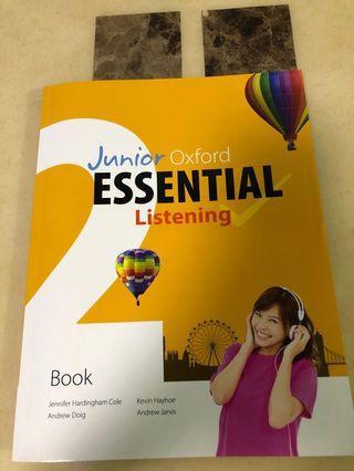 全新中二junior Oxford essential listening