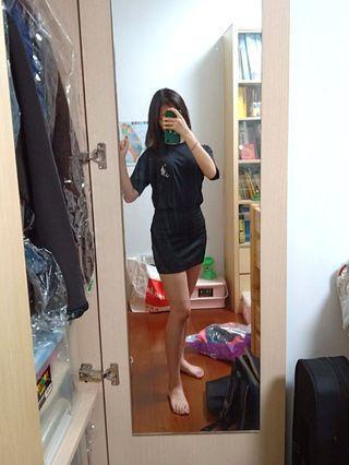 🚚 西裝裙 黑短裙 上班裙 彈性窄裙