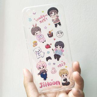 [WTS] Park Jihoon Fanart Transparent Phone Case