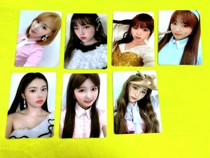 IZ*ONE PC MASTERLIST