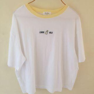 KOREAN LEMON MILK BASIC TEE