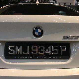 3D Chrome CarPlate
