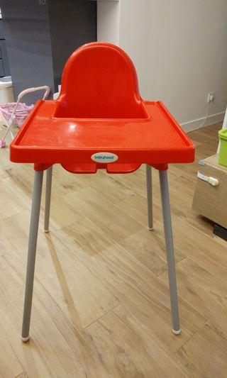 Babyhood高腳餐椅80% 新