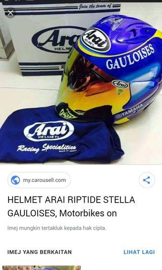 Helmet goloi limited stok low price only area sabah..!!