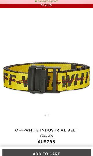 $150 OFF WHITE BELT
