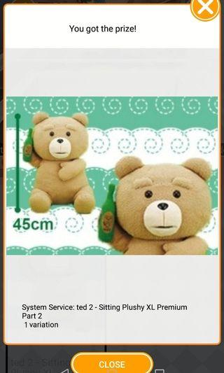TOREBA Ted Bear Plush toy 45cm
