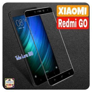 Tempered Glass Xiaomi Redmi GO Warna Hitam 9D - Screen Guard