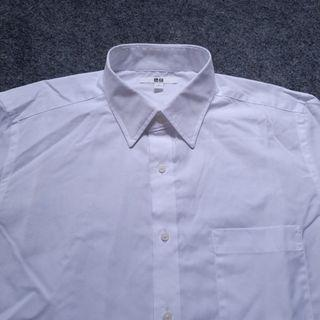 UNIQLO True White Cotton Shirt Long Sleeve Size L