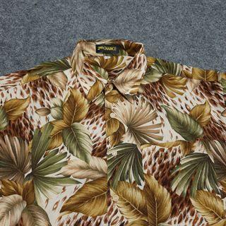 2nd CHANCE Hawaiian Shirt Short Sleeve Size L
